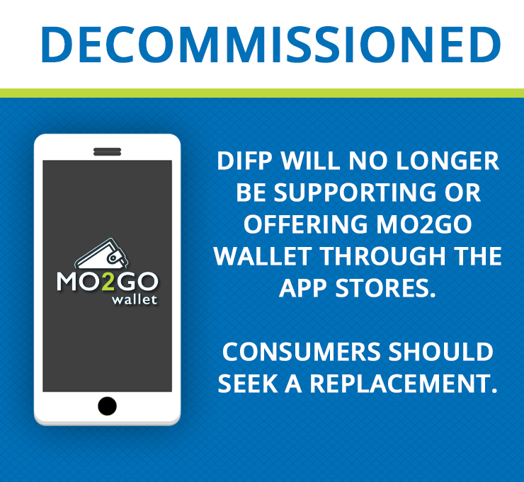 MO2Go wallet decommissioned- seek a replacement